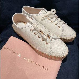 Sophia Webster white Tulla espadrilles sneaker